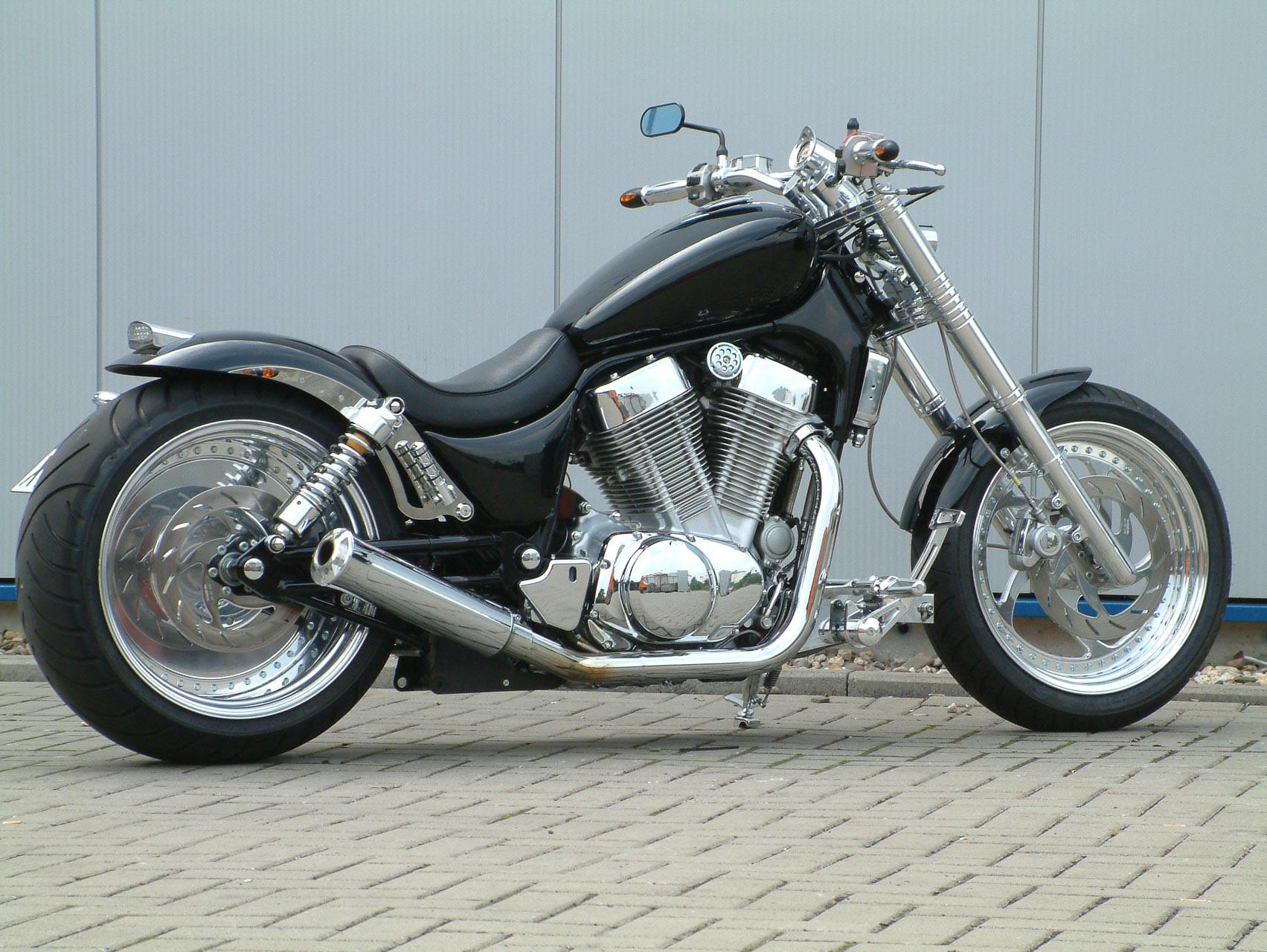 thunderbike black 49 suzuki vs1400 intruder custom umbau. Black Bedroom Furniture Sets. Home Design Ideas