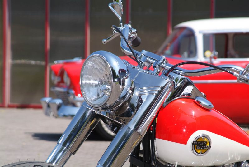 Thunderbike Bel Air Harley Davidson Fl1954 Mit S S Shovel 92ci Motor