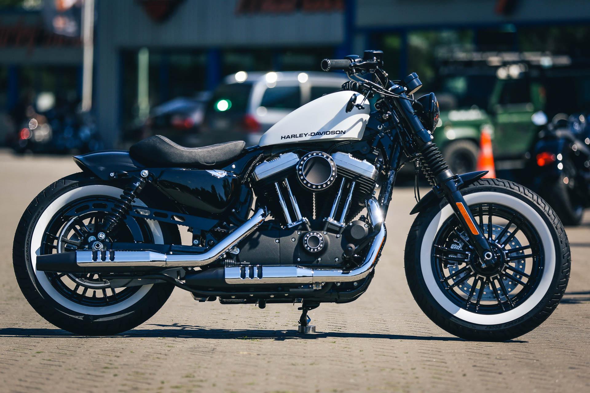 Thunderbike Whitesky H D Forty Eight Xl1200x Sportster Umbau