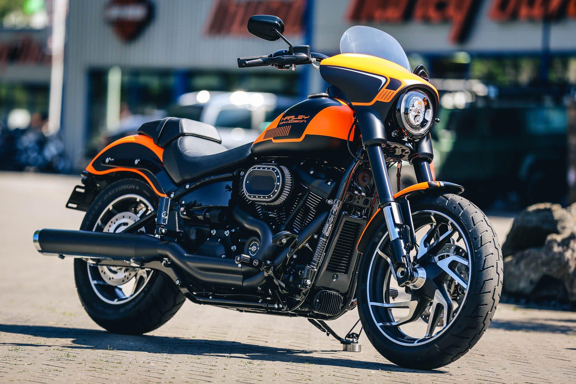 thunderbike orangeglide h d softail sport glide flsb umbau. Black Bedroom Furniture Sets. Home Design Ideas