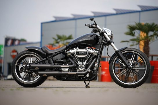 harley davidson softail umbauten bei thunderbike customs. Black Bedroom Furniture Sets. Home Design Ideas