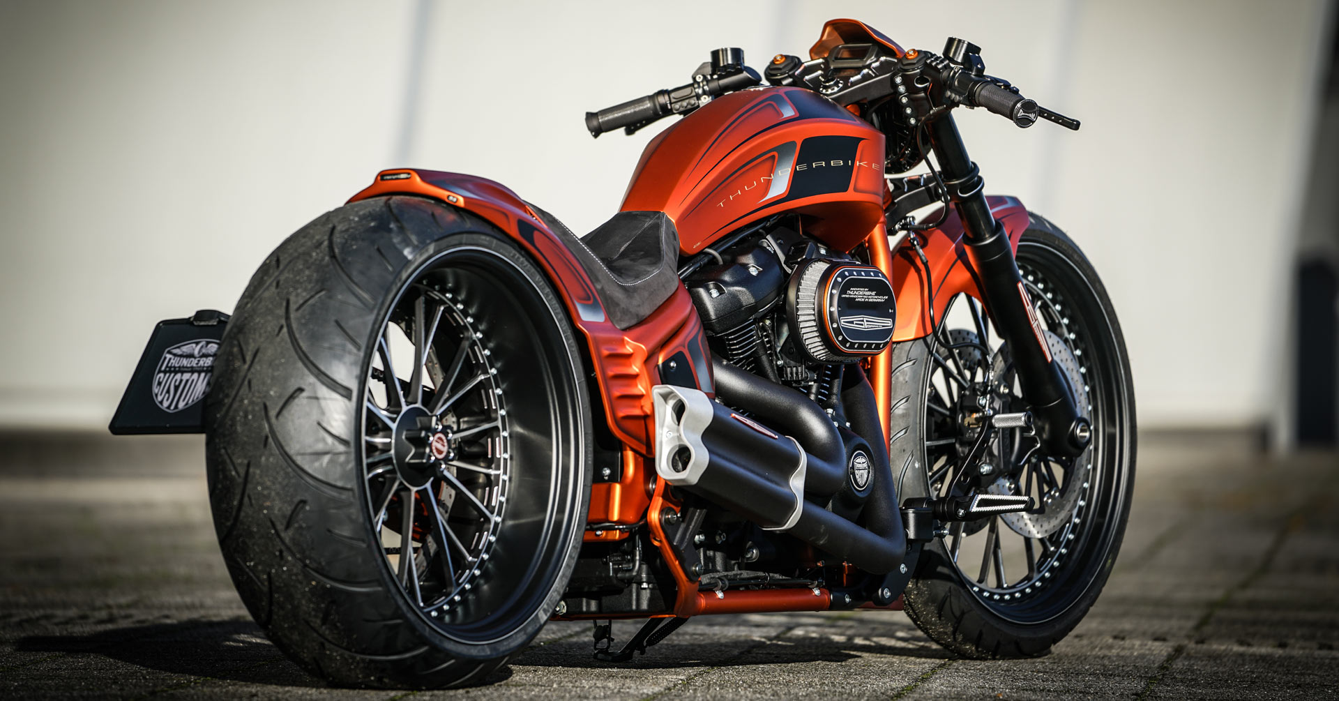 Gp Style on Custom Harley Softail Frames