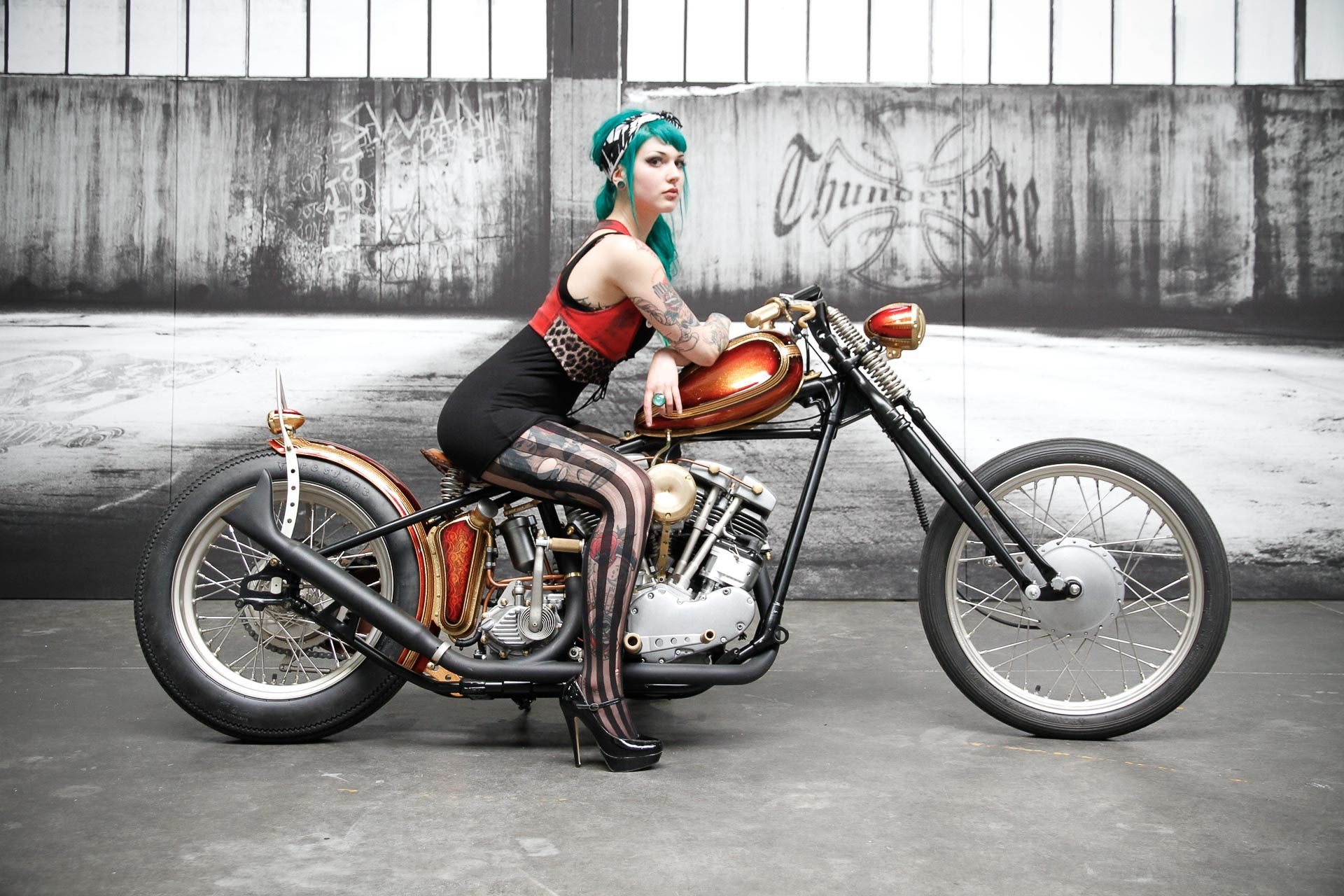 Naked Girls On Motorcycles