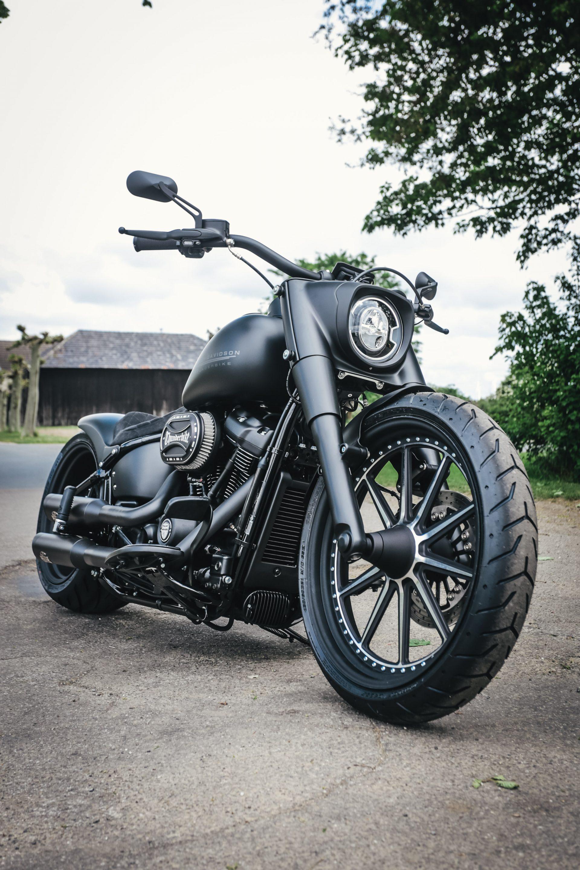 Thunderbike Matt Dude • Harley Davidson FLFBS Fat Boy in ...